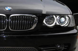 BMW E46 2D 2 Door Coupe 2DR Facelift WHITE LED ANGEL EYES