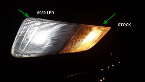 car lights on dash