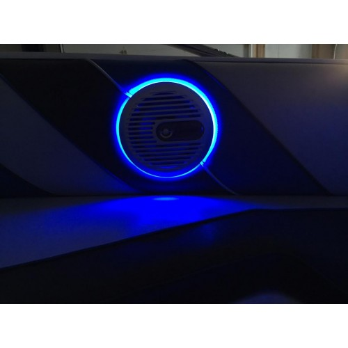 how to make led speaker rings