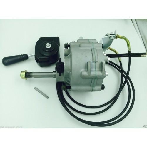 Forward Reverse Transmission : Go kart forward reverse gear box