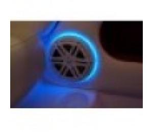"""3/4"""" thk 2pc LED Speaker Light Rings for JL 7.7"""" - 6 HOLES"""