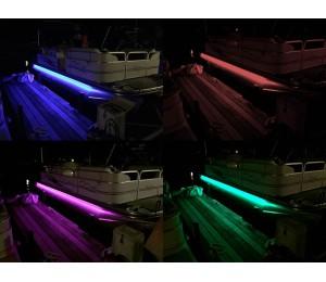 Pontoon Boat LED Under Deck Light Kit - Multi color