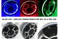 LED speaker Light rings for Wet sounds REV 10 or REV 410