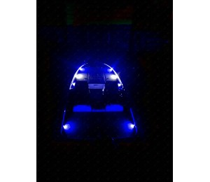 NOX SERIES - BASS BOAT LED Deck Light - BLUE (6)