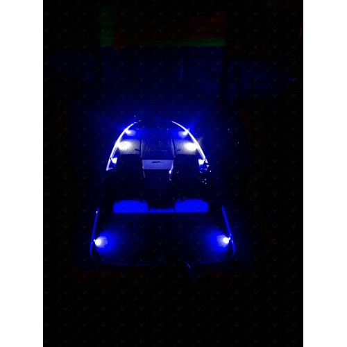 Nox series bass boat led deck light blue 6 aloadofball Image collections