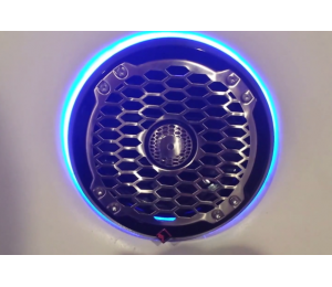 "6.5"" Rockford Fosgate PM2652 PM2652B LED Speaker Light Rings"