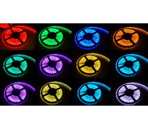 RGB LED Strip Light 5050 300 LEDs