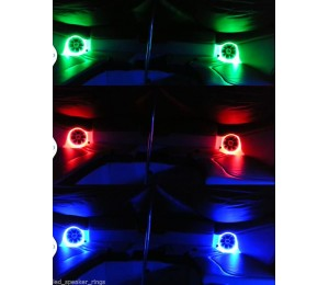 LED speaker rings for Wet sounds XS-650 XS-65i SW-650 SW-65i REVO 6
