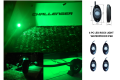 GREEN LED ROCK LIGHTS - 4PC