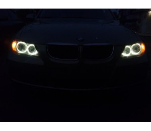 Bmw Angel Eyes Led Upgrade Bulbs Bmw E90 E91 325i 328i 330i 335i