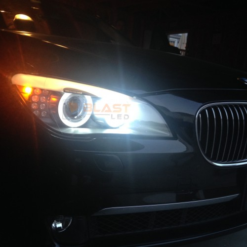 Bmw Angel Eyes Led Upgrade Bulbs H8 - 60W-1411