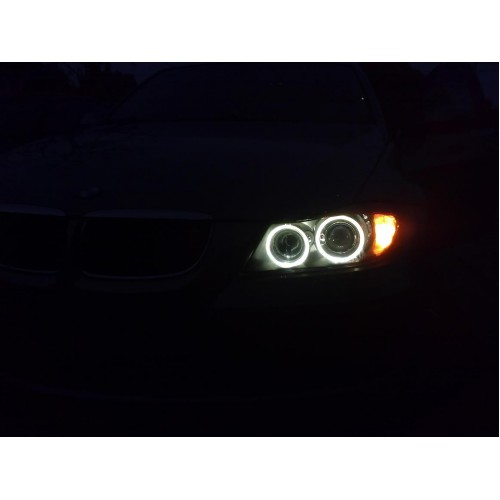 Bmw e87 angel eyes headlights-6350