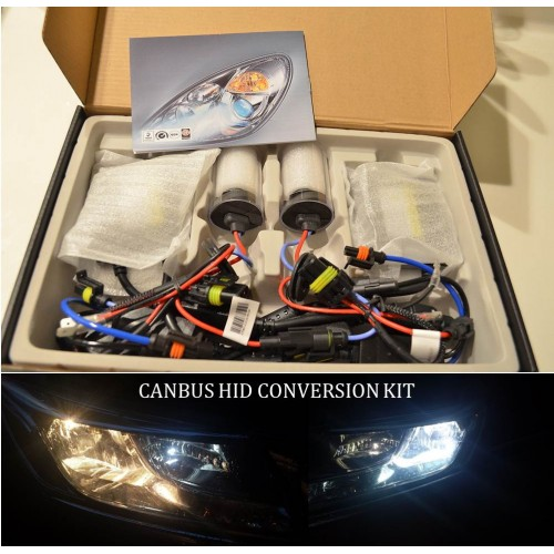 BMW 3 Series Low Beam H7 HID Conversion Kit - Error Free (CAN-BUS)
